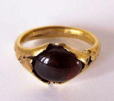 Ancient Roman Gold Ring, 100 A.D.