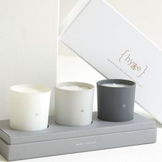 Buy Mint Velvet Triple Scented Candle Set from our Home Fragrances range at John Lewis & Partners. Candle Branding, Candle Packaging, Candle Labels, Candle Logo, Packaging Boxes, Tin Candles, Candle Set, Scented Candles, Candle Maker
