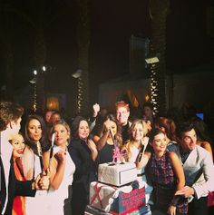 Back on June 10!  Pretty Little Liars 100th Episode Party: The Cast Celebrates!