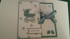 Stampin Up Something For Baby. Case'd from Born 2 Stamp