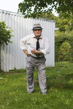 what ali wore- a fashion photography blog of an elderly man and his outfits. If only I could look that smart when I'm his age!