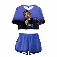 2018 Marcus And Martinus New Tshirt Tops Style Crop Tops Shorts t-Shirt 7 color Cropped Tank Top, Crop Tank, Martinis, Tank Shirt, Short Sleeve Blouse, Blouses For Women, Gym Shorts Womens, Baby, Shirts