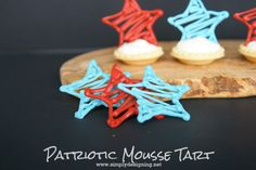 Patriotic Chocolate Stars