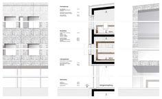 Fassadendetail Town Hall, Facades, Floor Plans, Floor Layout, Facade, Floor Plan Drawing, House Floor Plans