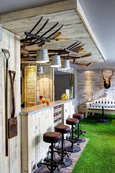 'The Potting Shed Bar'