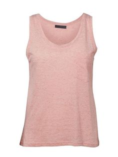 Yazmin Old Rose Basic Tank Top by Minimum