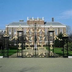 Kensington Palace - this was my view when I interned during college