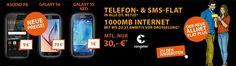 1GB Congstar Allnet Flat Plus für 30€ mit TOP Smartphone ab 1€ http://www.simdealz.de/telekom/congstar-allnet-flat-plus-mit-top-smartphone/