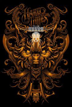 megan mushi on Behance Japanese Warrior Tattoo, Wolf Artwork, T Shirt Time, Mobile Legend Wallpaper, Samurai Art, Tattoo Stencils, Sketch Inspiration, Skull Art, Japanese Art