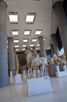 The New Acropolis Museum, Plaka District, Athens, Greece