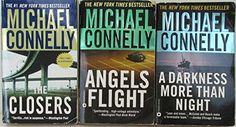 Author Michael Connelly Three Book Set Bundle Collection, Includes: A Darkness More Than Night - The Closeres - Angels Flight Michael Connelly, Resale Store, Hard To Find, Textbook, Darkness, Household, Angels, Author, Electronics