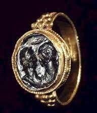 Anillo Romano de Oro - Siglo III A.D..