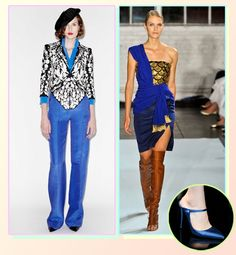 10 prettiest colors for spring - True Blue | Gallery | Glo.Cerulean blue. Can go sophisticated and belt it or pop of color in a strappy shoe.