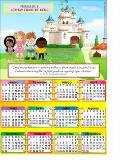 Calendários 2013 para a Primária