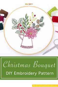 33 Holiday Embroidery Ideas In 2021 Holiday Embroidery Embroidery Embroidery Patterns