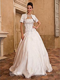 MADISEN - Vestido de Noiva em Cetim – BRL R$ 502,64