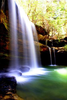 Caney Falls, Black Warrior River, Sipsey Wilderness, Bankhead National Forest, NW Alabama by ccil516