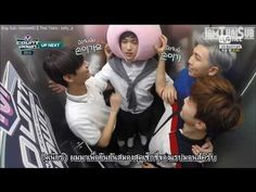 V makes the cute entrance and Jimin makes the cute exit......Rapmon is is cute the whole time...[iamThaiSub] 150507 MCD #BTS Up Next : RM V JM with Jr. #GOT7 - YouTube