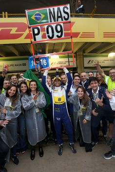 9th place for Felipe Nasr! Sauber in the points