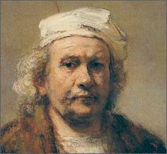 Rembrandt is another painter, like Kahlo, Drurer and Van Gogh who did a lot of self portraits. It's not necessarily self-indulgence or narcissism, but usually just convenience or frugality. Dutch Artists, Famous Artists, Great Artists, Watercolor Portraits, Watercolor Paintings, Rembrandt Self Portrait, 7 Arts, Painting Techniques, Art History