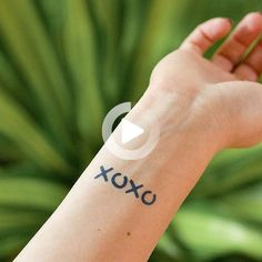 Tattoo Dimensions: x inches Meaning of Design / Name: This design is based on Dan Humphrey from Gossip Girl, xoxo. Rib Tattoos Words, Tattoo Quotes For Men, Meaningful Tattoo Quotes, Quote Tattoos Girls, Flower Wrist Tattoos, Wrist Tattoos For Guys, Small Meaningful Tattoos, Small Wrist Tattoos, Fake Tattoos