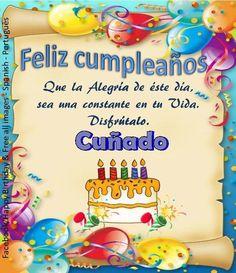 Cuñado ┌iiiii┐Felíz Cumpleaños ┌iiiii┐