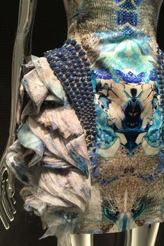 """""""LONDON is where I was brought up. It's where my heart is and where I get my inspiration."""" The words of Lee McQueen greet us as we enter the Savage Beauty exhibition, as its doors finally open at the Victoria & Albert Musuem today."""