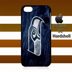 Seattle Seahawks On Wood iPhone 5c Case Cover Hardshell