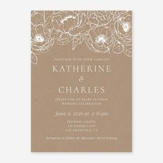 Looking for beautiful paper save-the-date cards & wedding invitations? Create a perfect, affordable design for your wedding & order in minutes! Brown Wedding Invitations, Affordable Wedding Invitations, Wedding Cards, Moon Wedding, Fall Wedding, Dream Wedding, Birch Tree Wedding, Wedding Dress Cost, Wedding Order