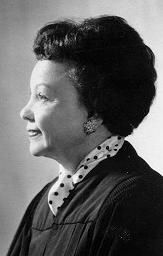 Juanita Kidd Stout (1919-1998) Justice of the Supreme Court of Pennsylvania from 1988-1989, the first African-American woman elected to judgeship in America and also to serve in the Supreme Court of any state.