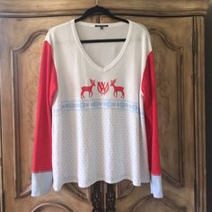 Wildfox Holiday Sweater New without tags, size large but can fit smaller Wildfox Sweaters