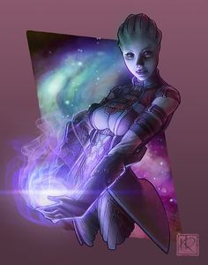 Shadow Broker (Liara T'Soni - Mass Effect series) by Jacinthe