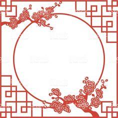 Oriental Frame stock vector art 165683650 | iStock