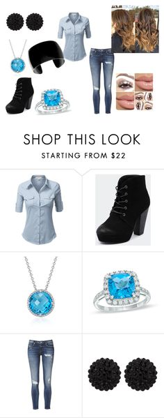 """""""cool"""" by court-courtney ❤ liked on Polyvore featuring J.TOMSON, Therapy, Blue Nile, Lab and sweet deluxe"""