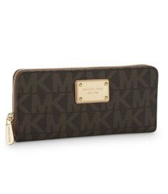 in serious need of a new michael kors wallet. my one from 4 years ago is FINALLY falling apart. $138.00