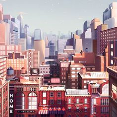 New York City, it's been quite a long time I last visited this city. It must be pretty at this time of year with the winter wonderland, well we are featuring an illustration/animation project with Paris-based illustrator Florent Hauchard with Parallel Studio for New York Times. The final result creates the rightful atmosphere of a cityscape scene with so much history and architectural features. . . . Featured: Florent Hauchard Link: http://abduzeedo.com/illustration-new-york-times-gift-guide…
