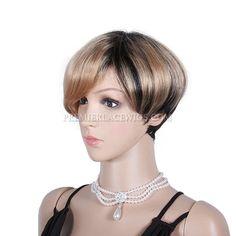 beautiful short blonde haircut
