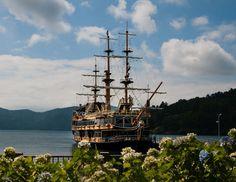 Tagesausflug Hakone - Piratenschiff
