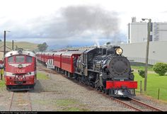 Net Photo: 608 Steam Incorporated Steam at Pahiatua, New Zealand by John Russell Funny Vintage Photos, Steam Railway, Rail Car, Old Trains, Steam Locomotive, Outlander Series, Historical Romance, New Zealand, Book Boyfriends