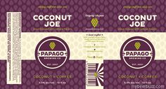 mybeerbuzz.com - Bringing Good Beers & Good People Together...: Papago Brewing - Coconut Joe Stout 12oz Cans