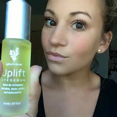 Who wants to take the uplift eye serum challenge? It is formulated to replenish, moisturize, and reduce the appearance of fine lines and wrinkles. You only need to use one to two drops a day. Contact me for more information!
