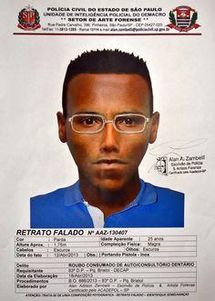 Segurança Pública SP — Polícia Civil divulga retratos falados de...