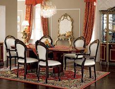 ESF Luxor Day Mahogany Dining Set