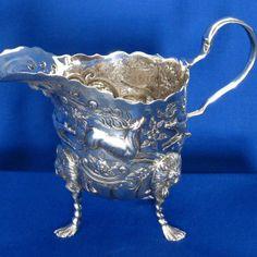 #Antique #Irish #Silver #Cream #Jug #Jewelry #The #Antiques #Room #Galway #Ireland Diamond Rings, Diamond Engagement Rings, Galway Ireland, Selling Antiques, Unique Vintage, Dublin, Irish, Vintage Jewelry, Cream