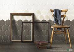 http://www.seniocer.it/#/1156-senio-atelier/59   #CeramicaSenio #madeinitaly #tile #ceramic #design #exagon #esagono #eclipse #diamond #craquelè #silk