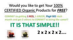 Wayne Krueger here, You know why you haven't heard of this yet??? Sure, that is because it is virtually a ground floor opportunity with a rock solid, stable, debt free company out of Phoenix Arizona ESSANTE ORGANICS The first and only company to have 100% Certified Organic products There are currently less than 1000 distributors in the world. Organics are predicted to be the next Trillion Dollar Industry. The media is educating people about this for us, and the world is shifting to ORGANICS…