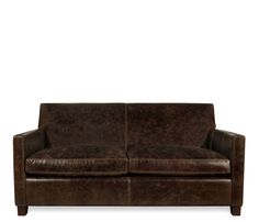 Klyne Leather Apartment Sofa   This Item May Be Custom Ordered In Over 400  Covers!
