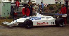 1981 GP Belgii (Keijo Rosberg) Fittipaldi F8C - Ford James Hunt, Motor Car, Formula 1, Racing, Emerson, F1, Trucks, Running, Car
