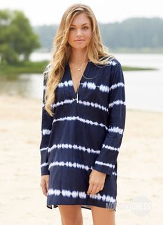 Raise The Bar Tunic In Navy | Monday Dress Boutique