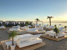 It is located on the Gothland island in Sweden, it´s season beggins just before Ibiza´s Beach Hotels, Beach Resorts, Hotels And Resorts, My Pool, Pool Bar, Outdoor Daybed, Beach Bedding, Hotel Concept, Beach Cafe